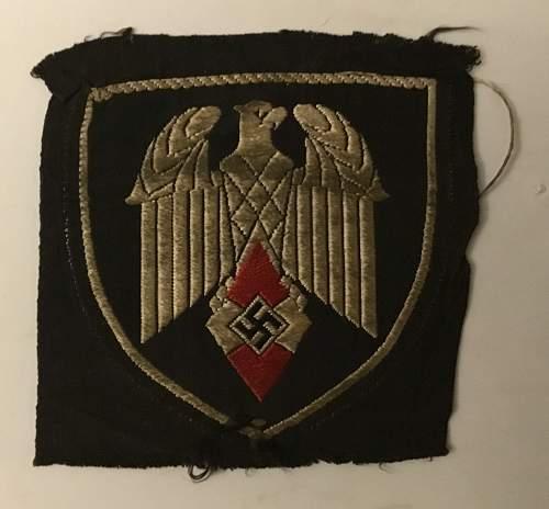 HJ flag bearers patch