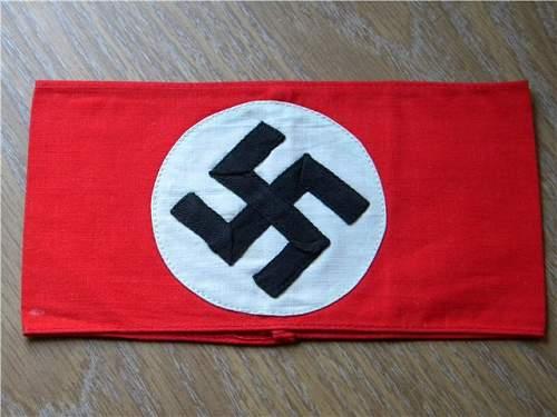 NSDAP Kampfbinde Arm Band and Youth: Real or Fake?