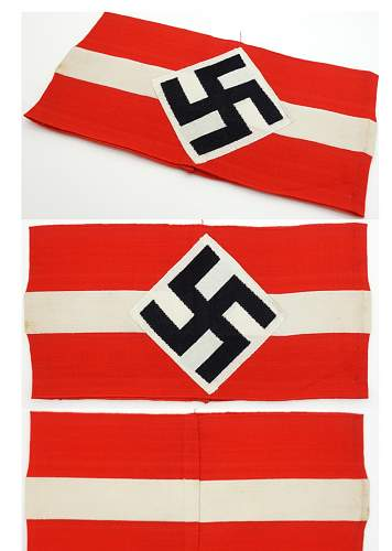 HJ armband for vetting & approval