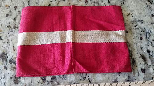 Hitler Jugend Armband for opinions please