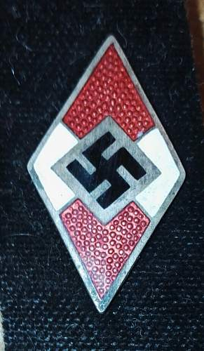 HJ membership badge