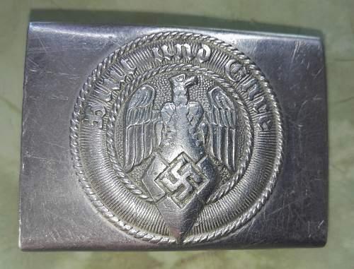 HJ  belt buckle
