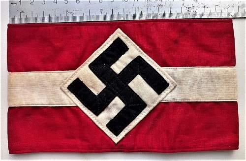tape sleeve Hitler Youth