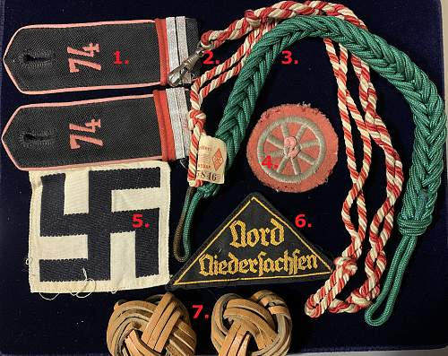 Hitler Jugend insignia etc. for opinions please