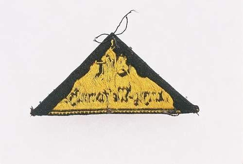 HJ triangle,,,Ost Danzig WestPrussen