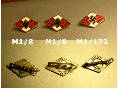 HJ Membership pins