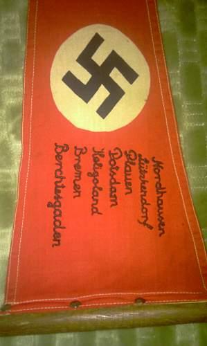 Please help ID this German triangular flag