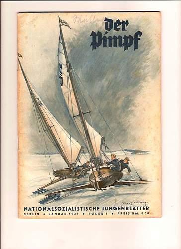 Click image for larger version.  Name:Der Pimpf Jan.1939 001.jpg Views:198 Size:100.8 KB ID:185513