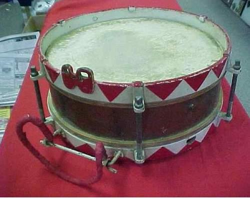 Hitler Youth Drum!!