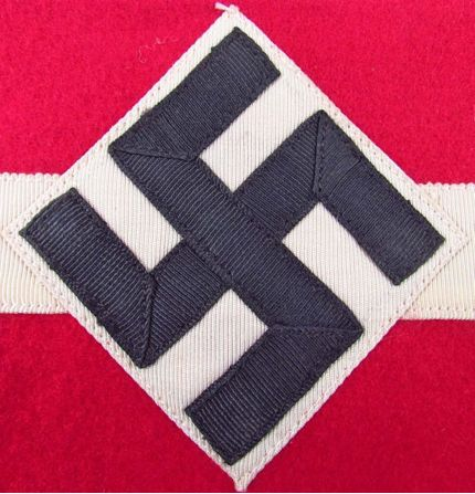 Hitler Youth wool 3 piece armband?