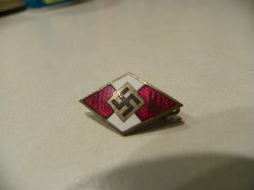 HJ Pin colors