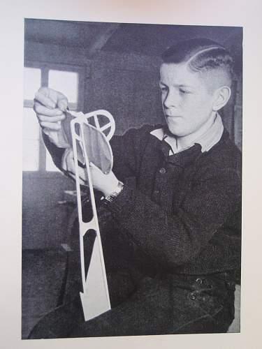 Hitler Youth School Book