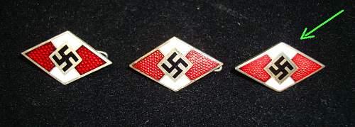 HJ membership pin