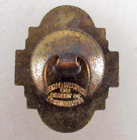 Anglo-German Youth Movement pin ..... real ?