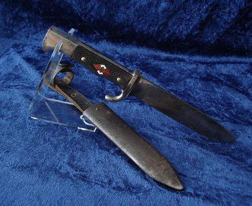 Click image for larger version.  Name:HJ. Dagger. Early version..jpg Views:144 Size:258.2 KB ID:284798