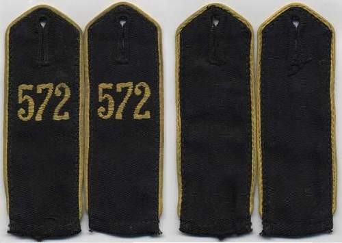 Shoulder boards for HJ shirt. Opinions please.