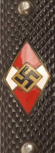 A Tip for telling originality of Hitler Jugend knife
