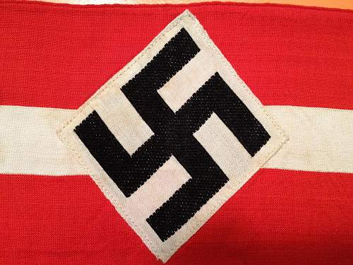 Hitler Youth Armband Real?