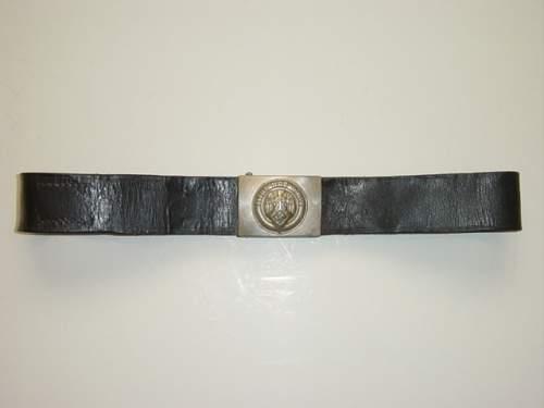 HJ Belt and buckle