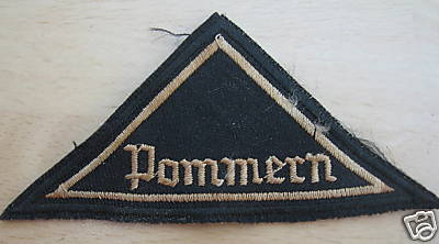 BDM District Patch Pommern