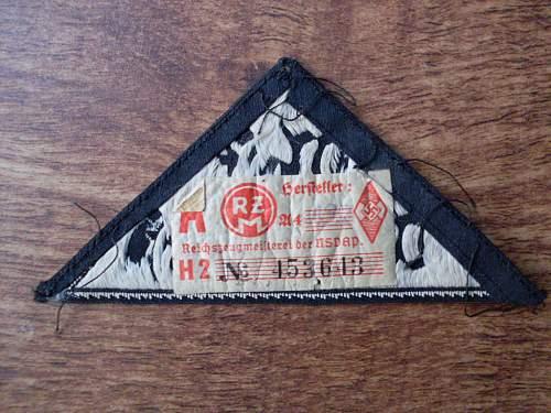 BDM sleeve insignia