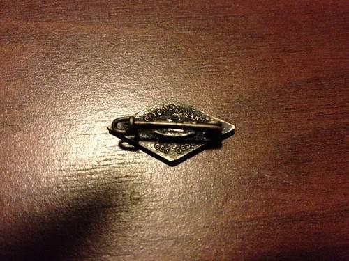 Fake HJ pin?
