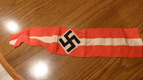Need opinions on this Hitler Youth armband
