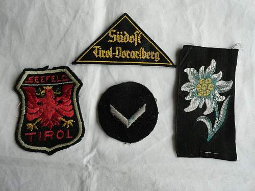 HJ Tirol with Edelweiss and Tirolan eagle Patch