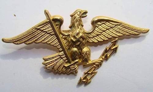 Prussian eagle desgin ?