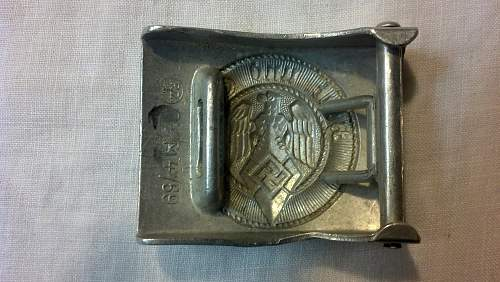HJ Buckle M4/59 real or fake? opinons please.