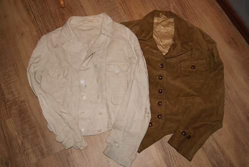 White BDM jacket?