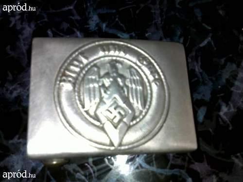 Hitler jugend  JFS Berlin cbelt backlet original?