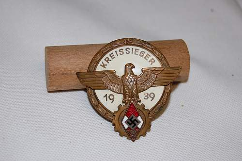 Question, What do you think of this badge? Kreissieger badge