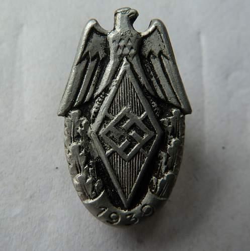 I.D. Please, Pin Badge.