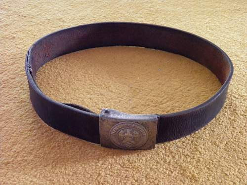 HJ belt and buckle - new addition and help needed