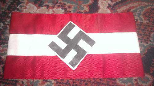 Hitler Youth Armband, can I please have opinions.