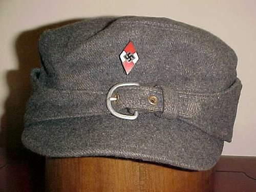 Blue grey HJ cap