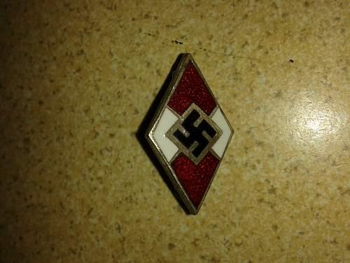 HJ badges!!!