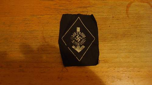 Unknown HJ insignia
