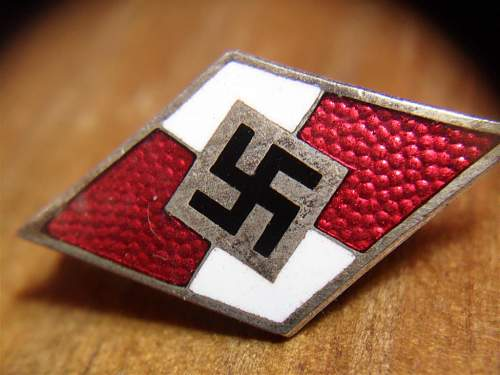My new Hitler Jugend´s PIN