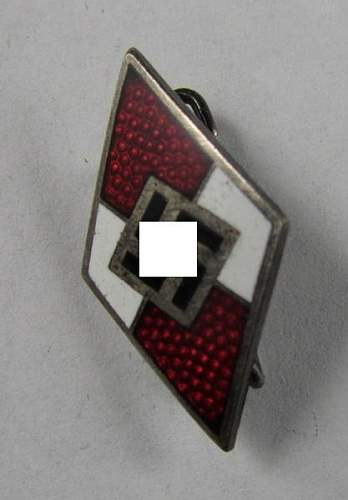 Purchased today HJ lapel pin
