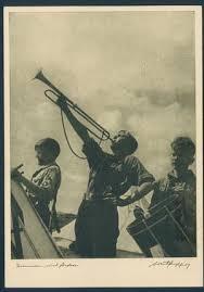 Deutsches Jungvolk trumpet banner
