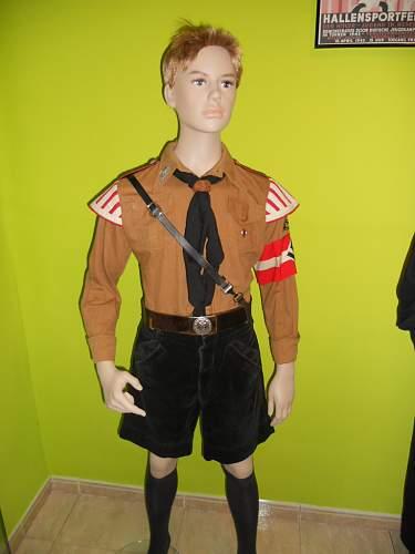 HJ firefighter uniforms