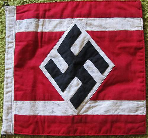 I need a specific  use  id.  Is this HJ small flag an encampment flag or how would it typically be used?