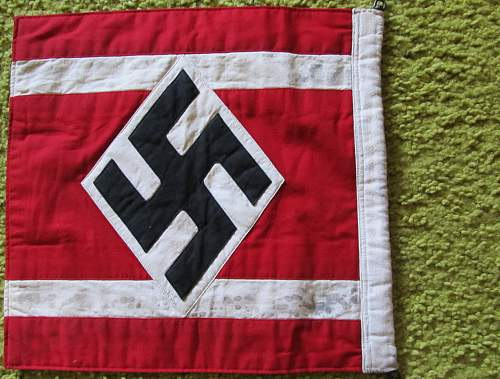 Click image for larger version.  Name:WW2 NAZI HITLER YOUTH FLAG-2.jpg Views:229 Size:217.3 KB ID:694349