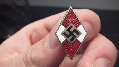 HJ badge M1/128