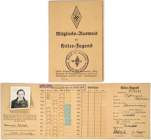 HJ MEMBER'S IDENTIFICATION CARD w/ a BDM girll???