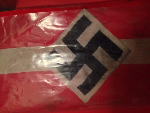 Authenticity for hitler youth armband