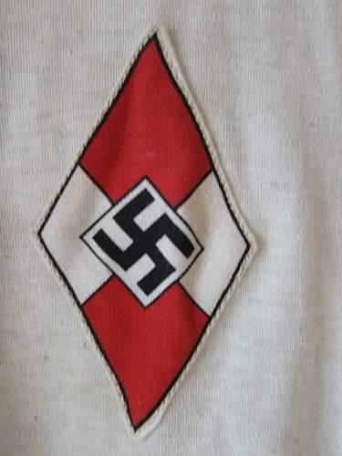 HJ sport shirt 1.st type - new found