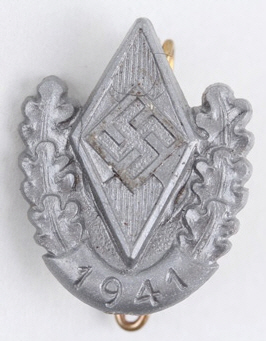 HJ sport competition badge
